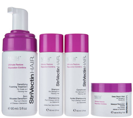 StriVectin Hair Treatment Foam with Starter Kit