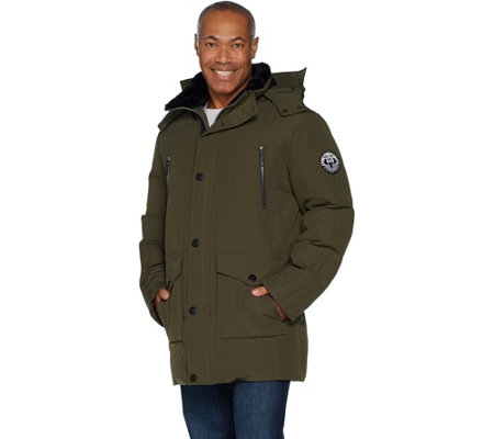 Arctic Expedition Men's Quilted Down Coat