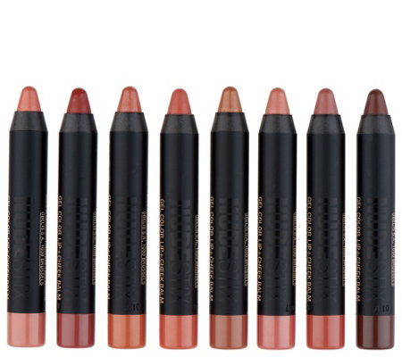 NUDESTIX Influencer 8-piece Mini Lip Collection