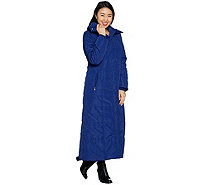 Dennis Basso Full Length Maxi Puffer Coat - A301431