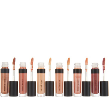 bareMinerals Notable Nudes 6pc Mini Moxie Lipgloss Collection
