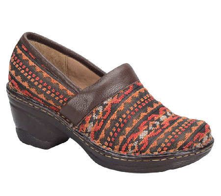 Softspots Larissa II Fabric or Leather Clogs