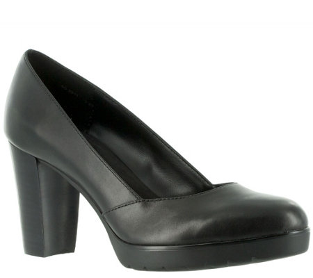 Bella Vita Leather Comfort Pumps - Zari