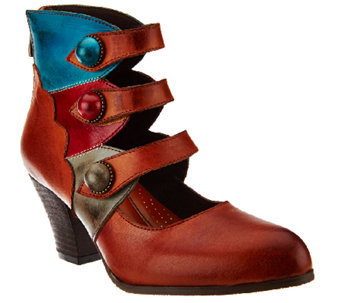 Spring Step L'Artiste Vintage Leather Ankle Boots - Autumn - A337831