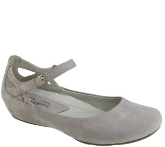 Earthies Leather Mary Janes - Capri - A339331