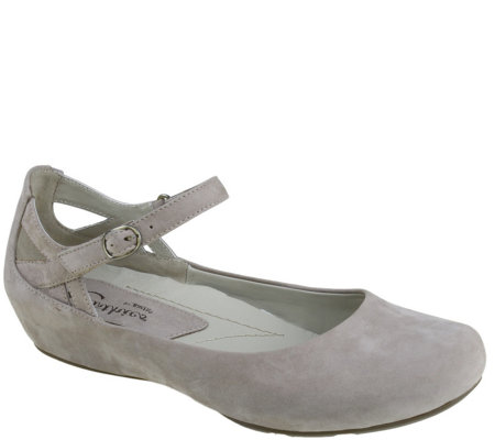 Earthies Leather Mary Janes - Capri