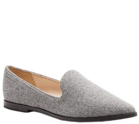 Sole Society High Vamp Loafers - Bela