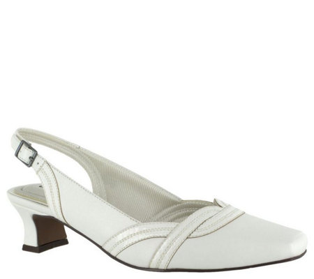 Easy Street Slingback Pumps - Stunning