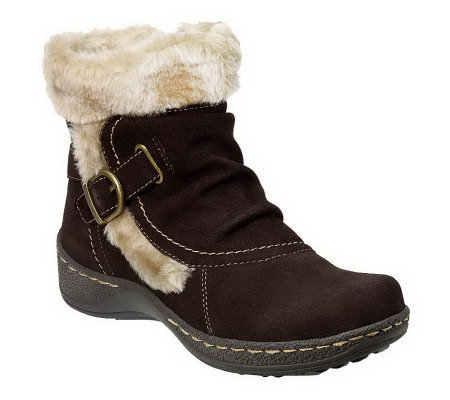 BareTraps Extreme Water Resistant Suede Ankle Boots