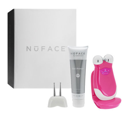 NuFACE Trinity At-Home Facial Toner w/ Effective Lip & Eye Attachment