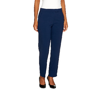 Susan Graver Regular Chelsea Stretch Pants with Pockets - A257132