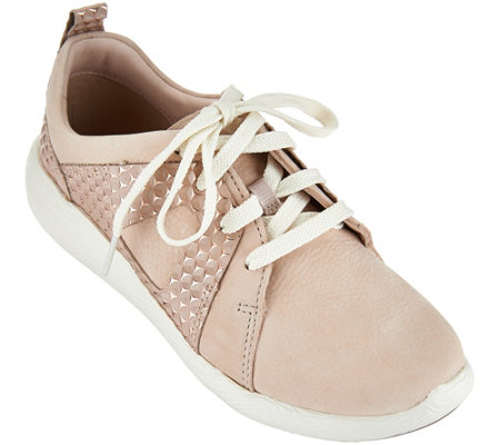 Clarks Artisan Nubuck Lace-up Sneakers - Cowley Faye