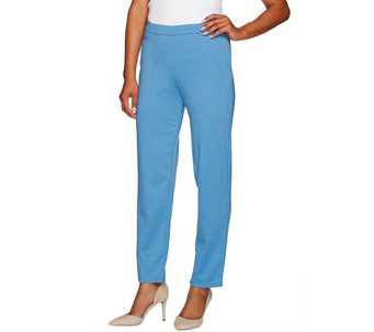 """As Is"" Bob Mackie's Pull-on Ponte Knit Straight Leg Pants - A276932"