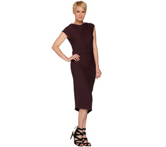 G.I.L.I. Side Ruched Knit Dress - A279732