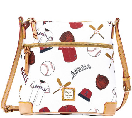Dooney & Bourke MLB Angels Crossbody