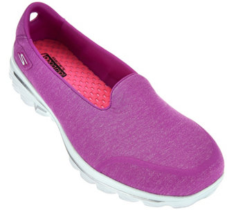 """As Is"" Skechers GOWalk 2 Super Sock Walking Sneaker-Courage - A286032"