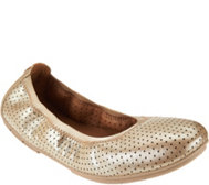 Clarks Unstructured Nubuck Leather Flats - Un.tract