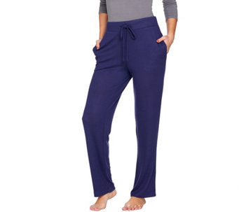 AnyBody Loungewear Brushed Hacci Lounge Pants - A289332