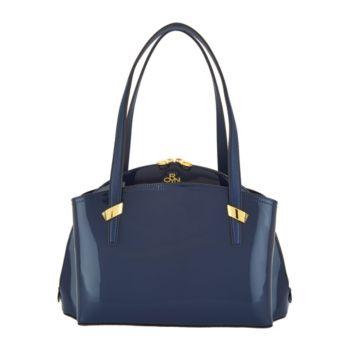 orYANY Patent Leather Satchel Handbag -Karina