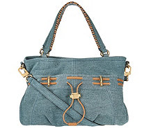 """As Is"" Aimee Kestenberg Leather Convertable Shopper-Westpor - A296832"