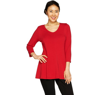 Susan Graver Modern Essentials Cotton Modal Tunic