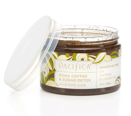 Pacifica Kona Coffee Scrub, 13 oz