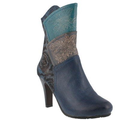 Spring Step L'Artiste Leather Ankle Boots - Lule