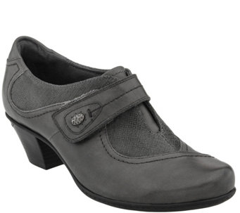 Earth Leather Mary Janes - Nutmeg - A356132