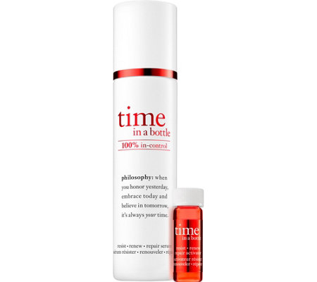 philosophy time in a bottle face serum, 1.3 oz