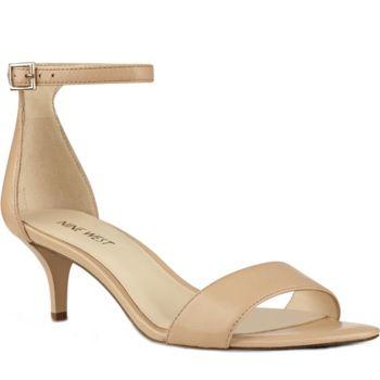 Nine West Leather Sandals - Leisa