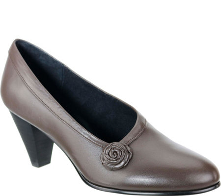 David Tate Leather Pumps - Kelly