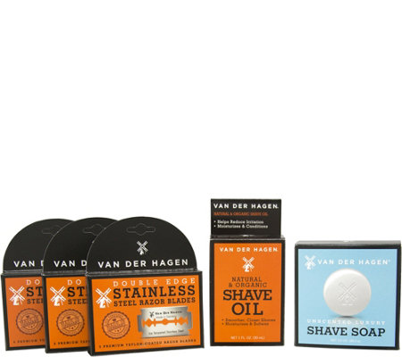 Van Der Hagen Shave Essentials Kit