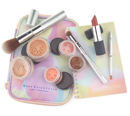 Bare Escentuals Daydreamer 9-piece Color Collection with Expandable Bag