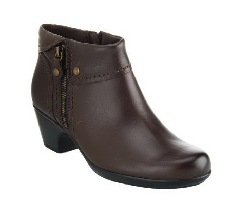Clarks Bendables Ingalls Thames Leather Ankle Boots