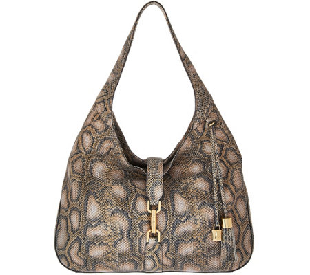 G.I.L.I. Classic Leather Hobo- Verona