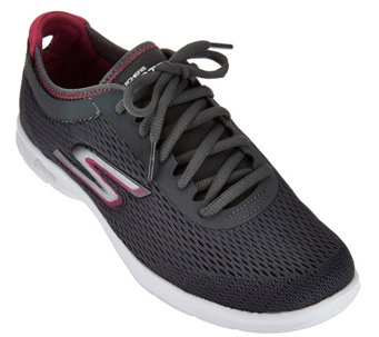 Skechers GO Step Sport Mesh Lace-up Sneakers- Sport - A278233