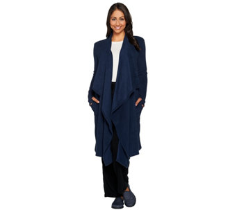 Cuddl Duds Fleecewear Stretch Long Wrap - A280233