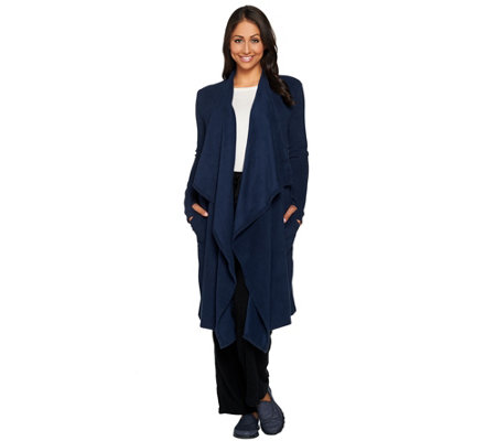 Cuddl Duds Fleecewear Stretch Long Wrap