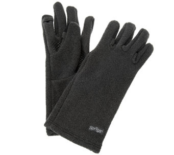 Perfect Fit Fleece Gloves with Texting Capabilities by Sprigs - A282033