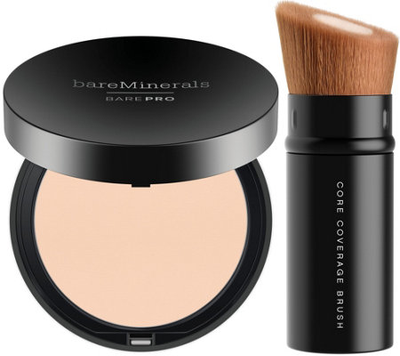bareMinerals barePRO Foundation and Brush