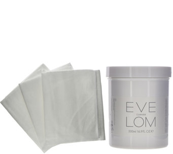 Eve Lom Super-Size Cleansing Treatment with 3 Muslin Cloths - A283133