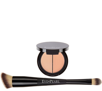 EVE PEARL Dual Salmon Concealer & Brush w/ Blender - A284933