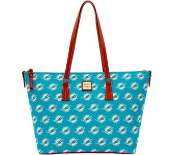 Dooney & Bourke NFL Dolphins Shopper - A285833