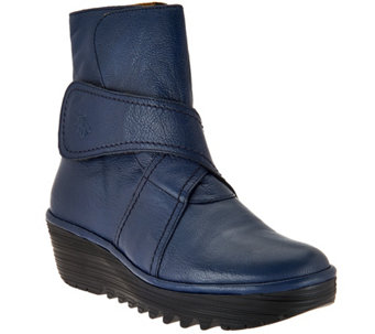 FLY London Leather Boots - Rada - A287933