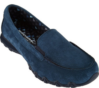 """As Is"" Skechers Modern Comfort Biker Moccasins - Roamer - A289133"
