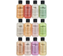 philosophy tasting menu 12pc shower gel collection - A294833