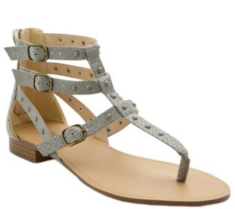 Kensie Studded Flat Thong Sandals - Billie - A340333