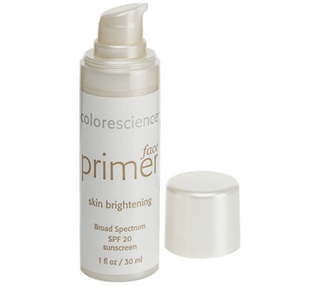 Colorescience Skin Brightening Face Primer SPF20, 1 oz