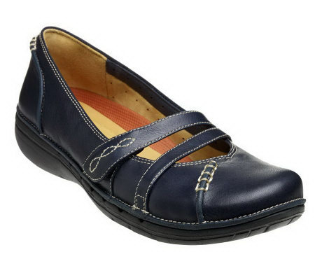 Clarks Unstructured Un.Harmony Leather Mary Janes