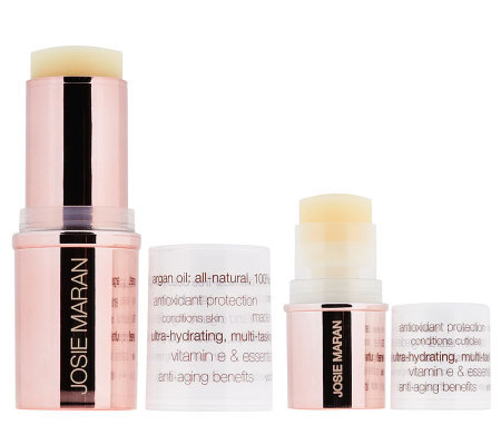 Josie Maran Argan Moisturizing Stick Duo